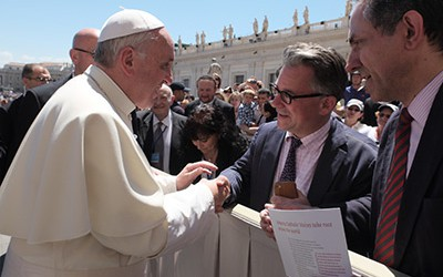Austen Ivereigh's interview with Pope Francis
