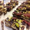 Rocky road with a festive touch