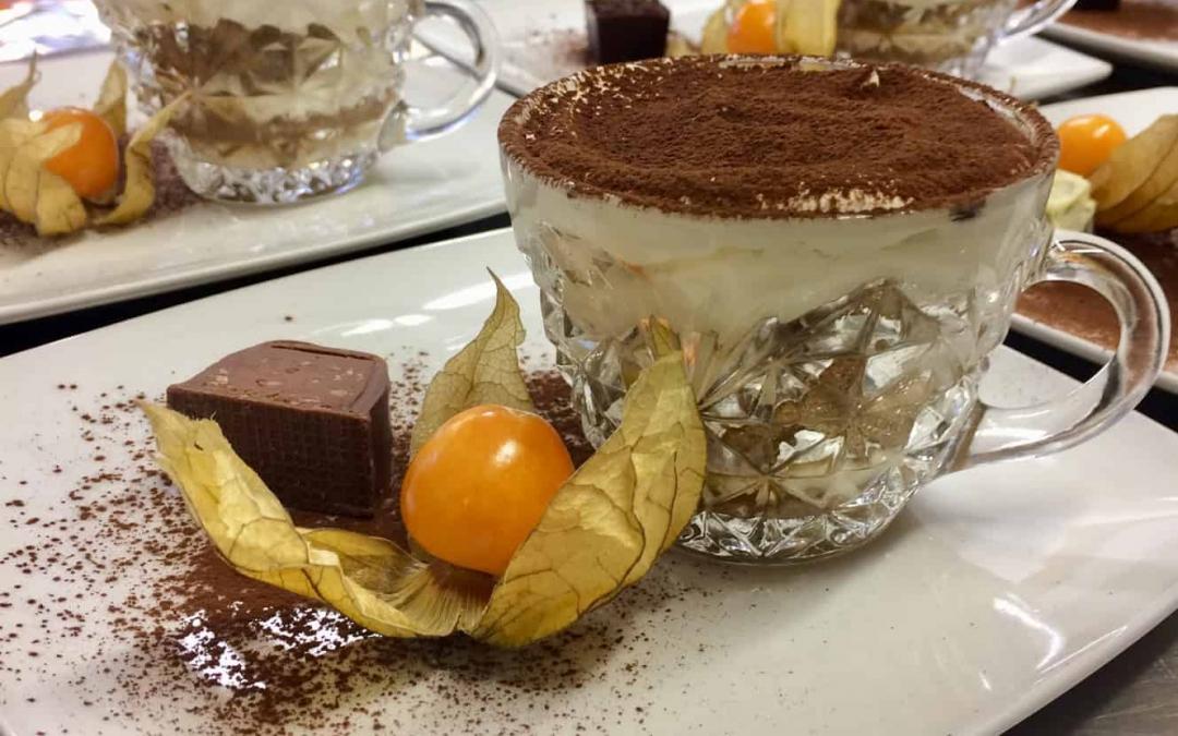 Delicious Tiramisu Cups