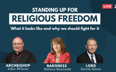 Standing up for Religious Freedom